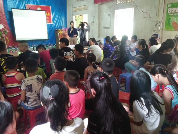 Hội LHPN phường Duyệt Trung tổ chức truyền thông phòng chống phòng tránh đuối nước và phòng tránh xâm hại tình dục cho trẻ em